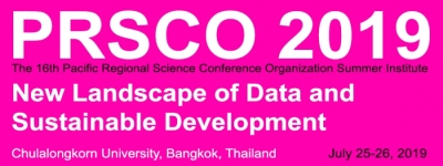 16th PRSCO Summer Institute | July 25-26, 2019, Bangkok, Thailand