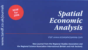 spatialeconomicanalysis