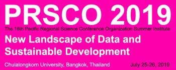 Deadline for Abstract Submission: Extended to 31 March 2019 | 16th PRSCO Summer Institute | July 25-26, 2019, Bangkok, Thailand