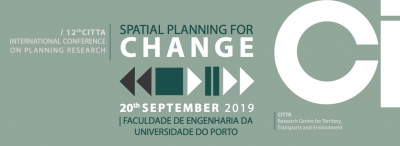 Reminder Call for abstracts - Extended deadline - 12th International Conference on Planning Research – 'Spatial Planning for Change'