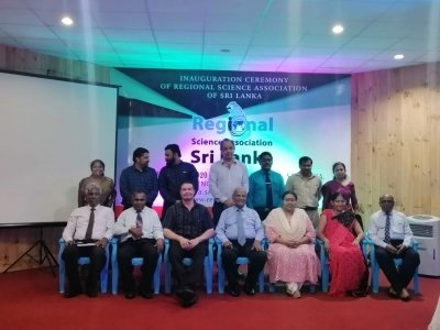Inauguration Ceremony of Regional Science Association of Sri Lanka