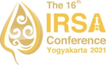 16th IRSA International Conference | Yogyakarta, 12-13 July 2021