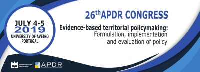 REMINDER | Call for Abstracts | 26th APDR Congress, 4-5 July 2019, Aveiro, Portugal