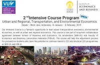 Intensive Course Program | 14 January–8 February, 2019, Depok–West Java, Indonesia