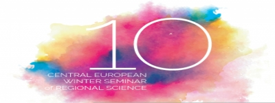 Slovak Section | 10th Central European Winter Seminar in Regional Science | 11-14 March 2020, Zuberec, Slovakia