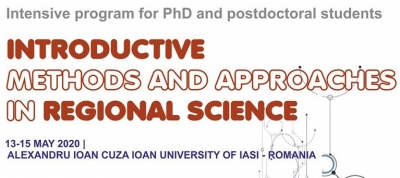Call for Applications – Workshops for PhD and postdoctoral students, 13-15 May 2020, Romania